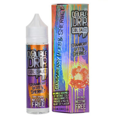 Strawberry Laces & Sherbet by Double Drip 50ml