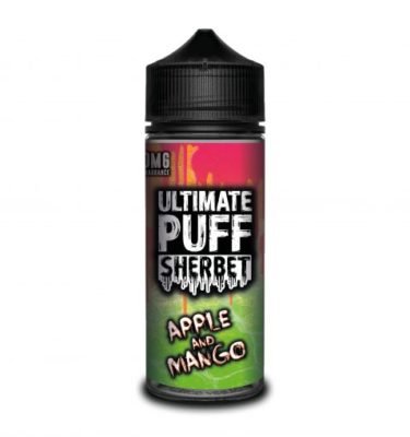 Apple and Mango by Ultimate Puff Sherbet 120ml