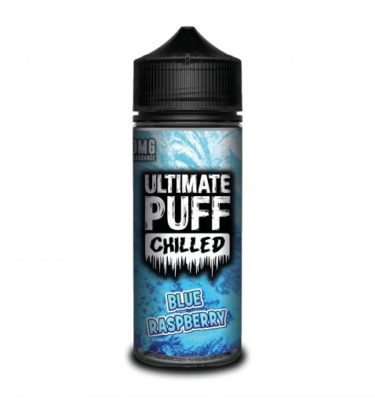 Blue Raspberry by Ultimate Puff Chilled 120ml