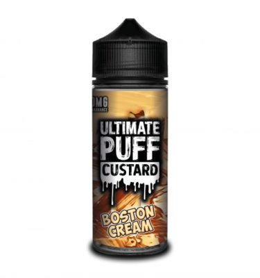 Boston Cream by Ultimate Puff Custard 120ml