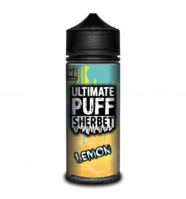Lemon by Ultimate Puff Sherbet 120ml