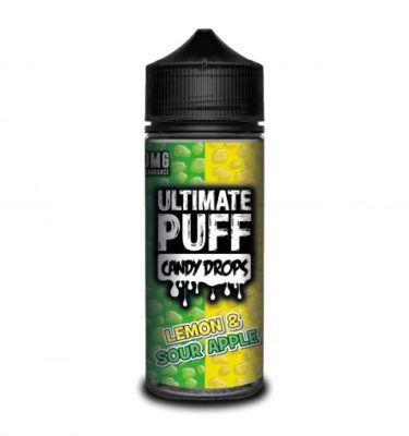 Lemon&Sour Apple Candy Drops by Ultimate Puff 120ml