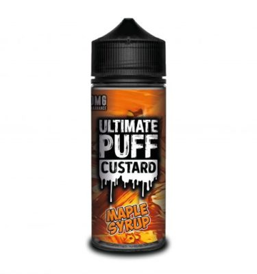 Maple Syrup by Ultimate Puff Custard 120ml