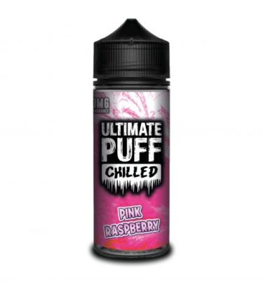 Pink Raspberry by Ultimate Puff Chilled 120ml