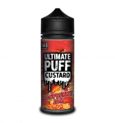 Raspberry Jam by Ultimate Puff Custard 120ml