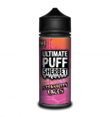 Strawberry Laces by Ultimate Puff Sherbet 120ml
