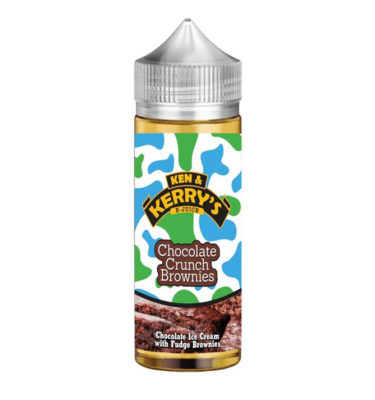 Chocolate Crunch Brownie by Ken & Kerry's 100ml