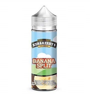 Banana Split Sundae by Ken & Kerry's 100ml