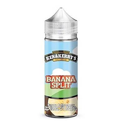 Banana Split Sundae by Ken & Kerry's 100ml
