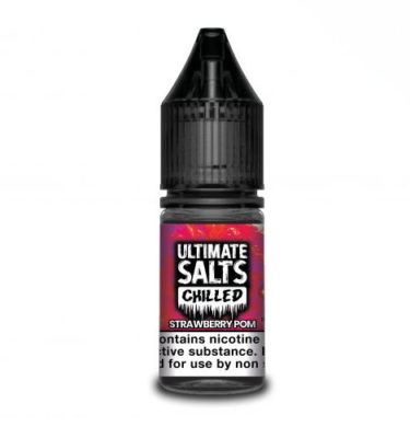 Strawberry Pom by Ultimate Salts Chilled (10x10ml)