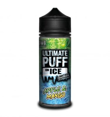 Apple & Mango by Ultimate Puff on Ice 120ml
