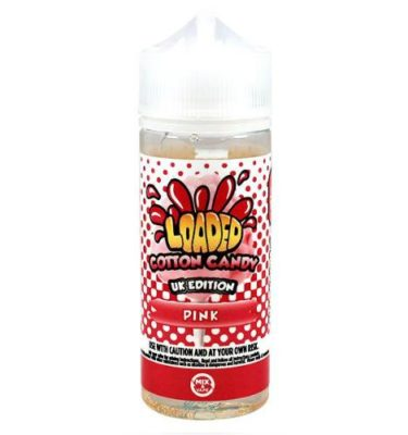 Pink Cotton Candy Loaded 100ml