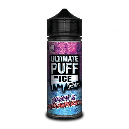 Grape & Strawberry by Ultimate Puff on Ice 120ml
