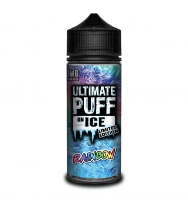 Rainbow by Ultimate Puff on Ice 120ml