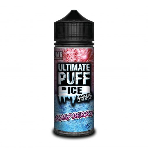 Raspberry by Ultimate Puff on Ice 120ml