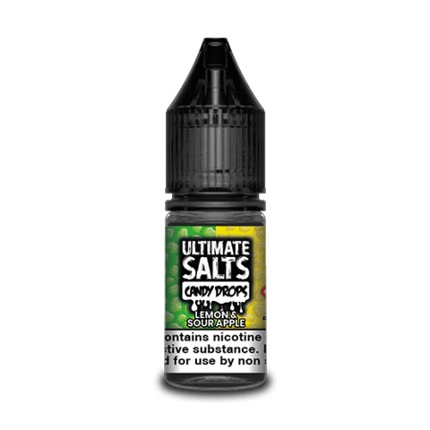 Lemon & Sour Apple by Ultimate Salts Candy (Pack of 10)