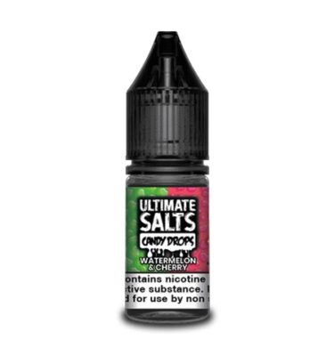 Watermelon & Cherry by Ultimate Salts Candy (Pack of 10)