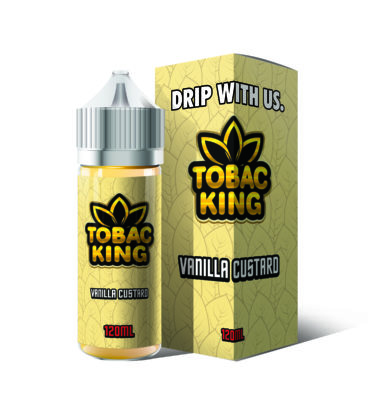 Vanilla Custard by Tobac King 100ml