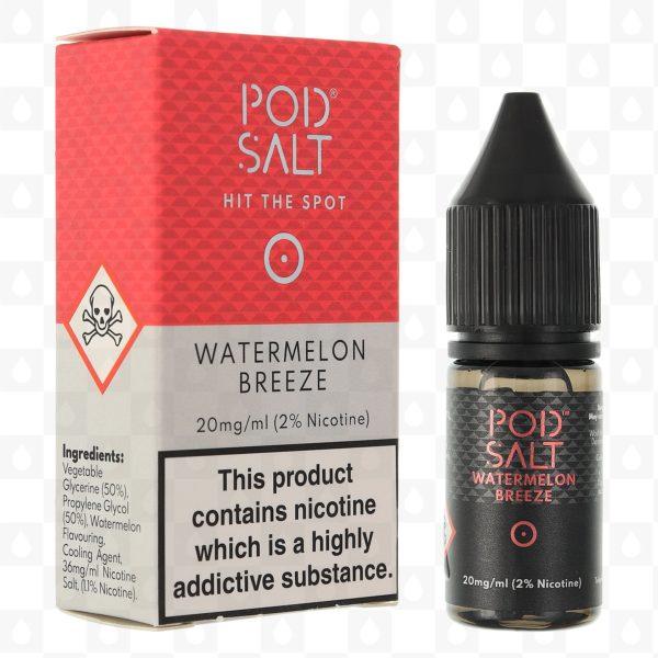 Watermelon Breeze by Pod Salt 10ml 20mg (pack of 5)