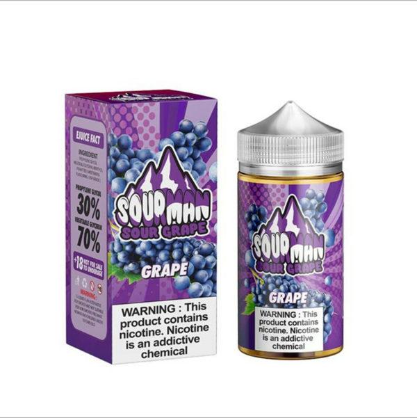 Grape by Sour Man E-Liquid 200ml