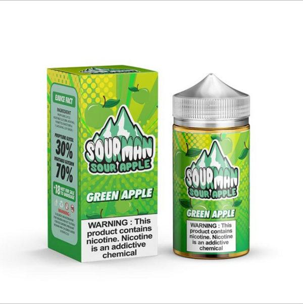 Green Apple Sour Man E-Liquid 200ml