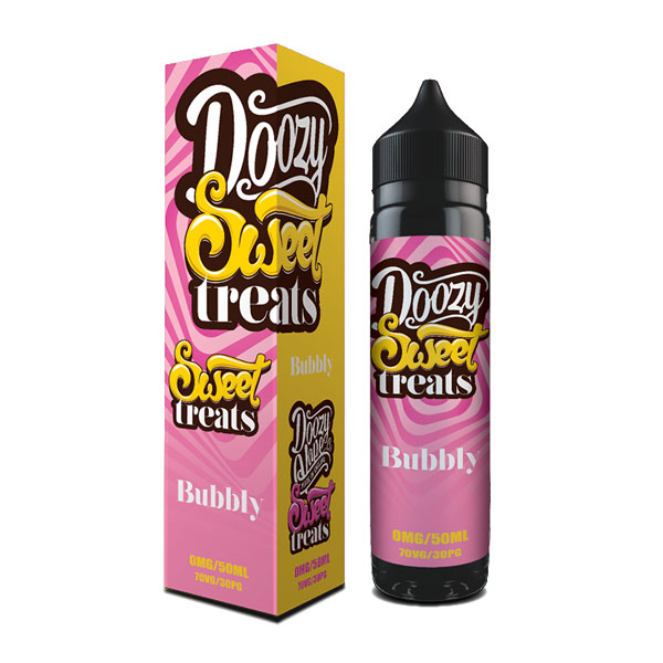 Classic Bubbly Bubblegum flavour loaded with school day memories