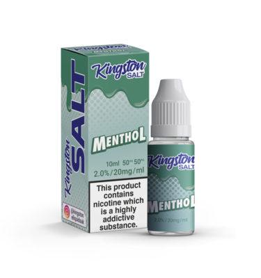 Menthol By Kingston Nic Salt
