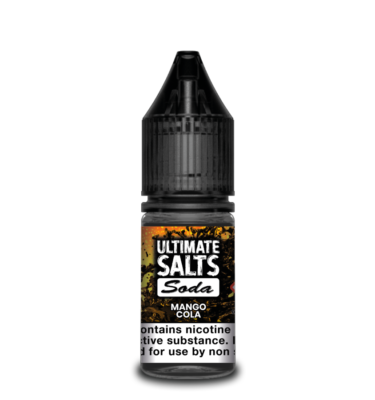 Mango Cola by Ultimate Salts Soda (Pack Of 10)