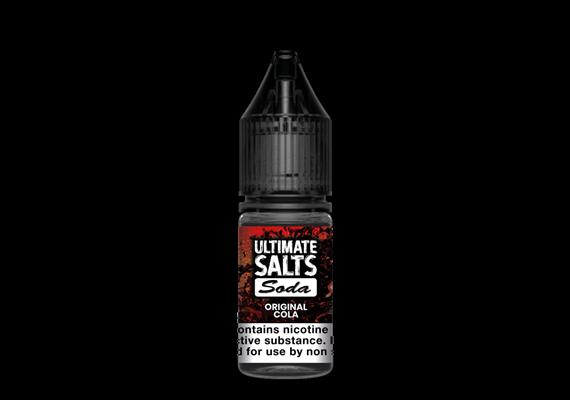 Original Cola by Ultimate Salts Soda (Pack Of 10)