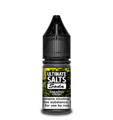 Pineapple Crush by Ultimate Salts Soda (Pack Of 10)
