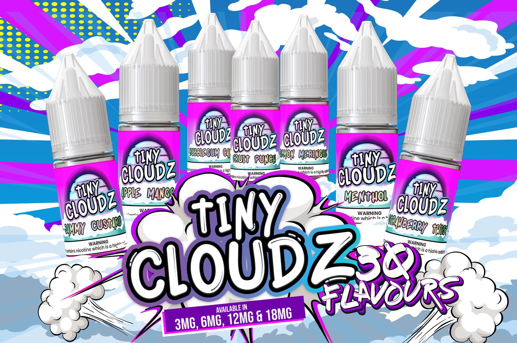 Tiny Cloudz 10ml Nic Salts