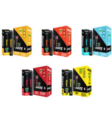 Haze Bar CBD Disposable Pods 120MG 600 Puffs